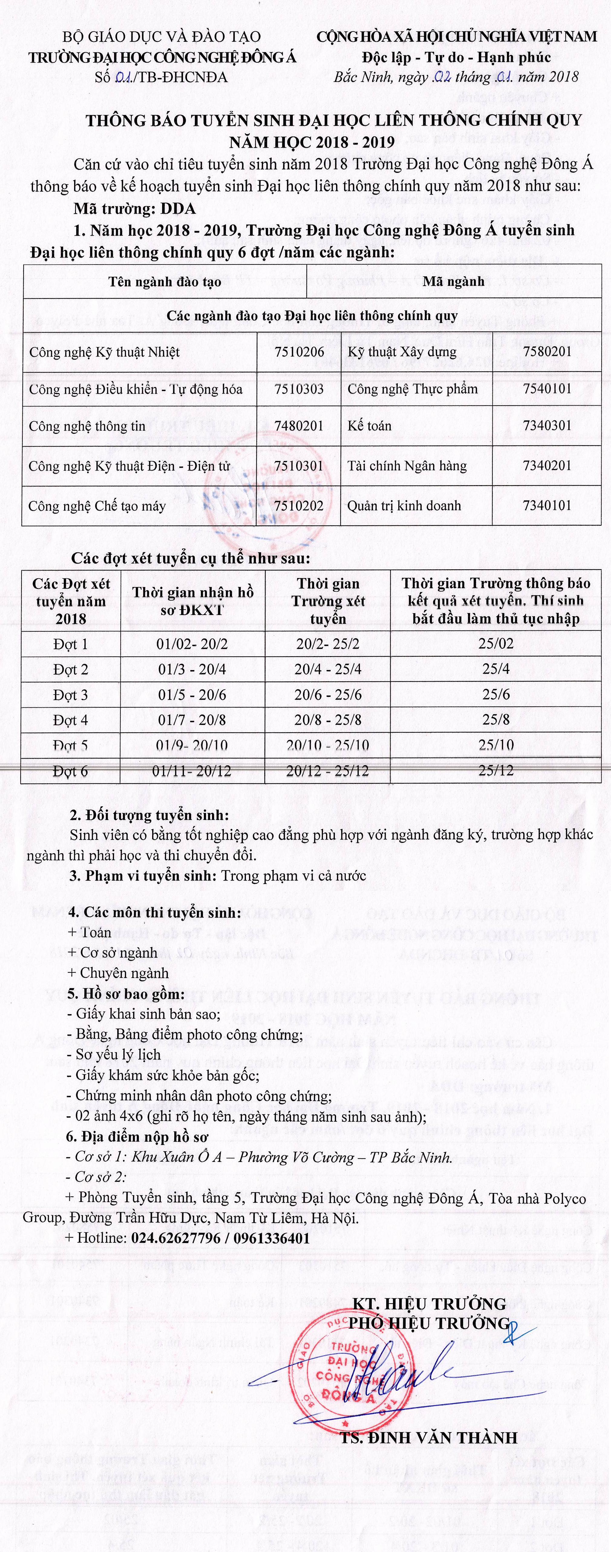 TB Tuyen sinh lien thong 3