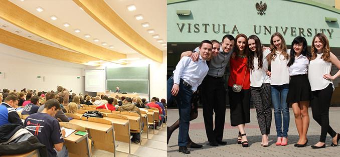 du học chuyển tiếp đại học Vistula Ba Lan