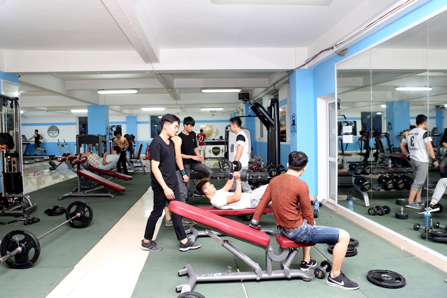 Một không gian UNI GYM của Đại học Công nghệ Đông Á