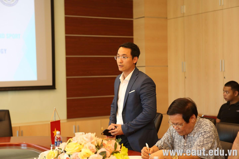 TS. Đinh Văn Thành - Phó Hiệu trưởng Đại học Công nghệ Đông Á