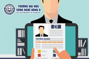 Đại học Công nghệ Đông Á tuyển dụng Nhân viên Đối ngoại