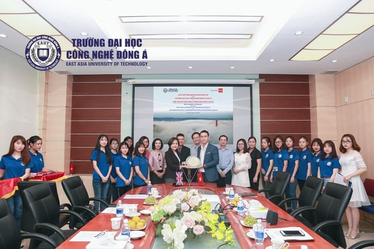 Memorandum of Understanding (MOU) between East Asia University of Technology (EAUT) and the Association of Chartered Certified Accountants (ACCA)