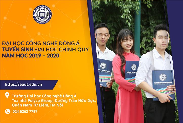 CHÍNH THỨC: Phương thức tuyển sinh năm học 2019 Trường Đại học Công nghệ Đông Á