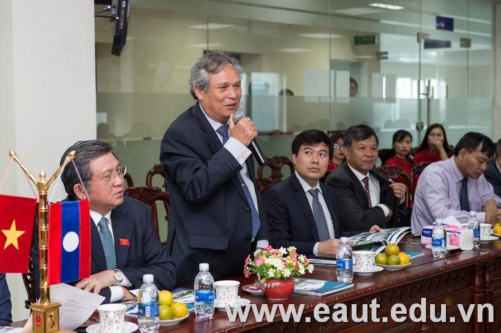 Chủ tịch Tập đoàn Polyco - Giáo sư, Tiến sĩ Đinh Văn Thuận.