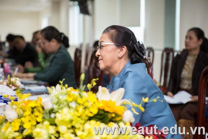 Chủ tịch Quốc hội Lào, bà Pany Yathotou.