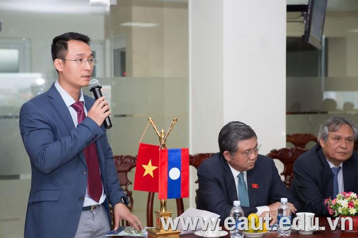 Tổng giám đốc Đinh Văn Thành giới thiệu thông tin về Tập đoàn Polyco