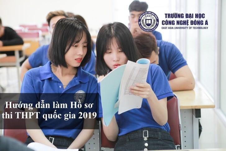 (Tiếng Việt) HƯỚNG DẪN CHI TIẾT LÀM HỒ SƠ DỰ THI THPT QUỐC GIA 2019