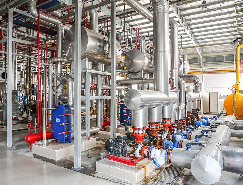 Hệ thống lạnh Nhà máy bia Sài Gòn - Kiên Giang