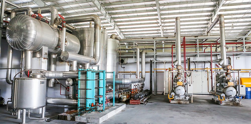 Hệ thống lạnh Nhà máy bia Sài Gòn - Ninh Thuận