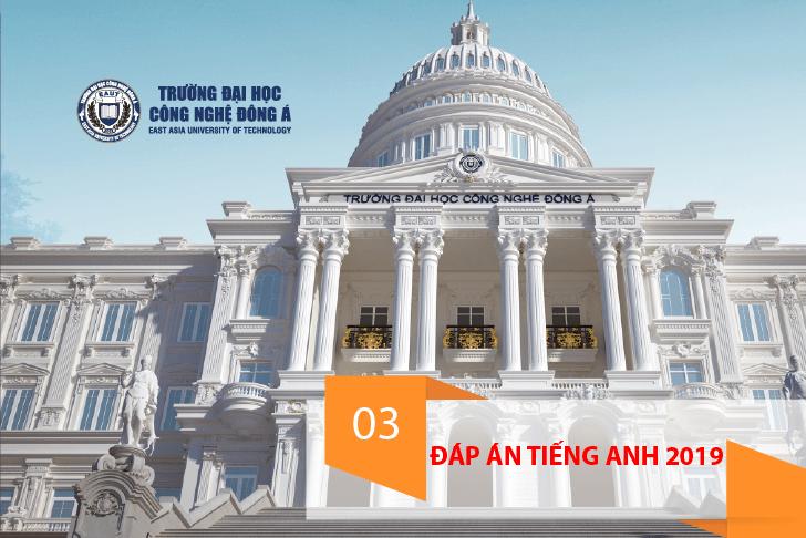 Gợi ý đáp án môn Ngoại ngữ thi THPT Quốc gia 2019