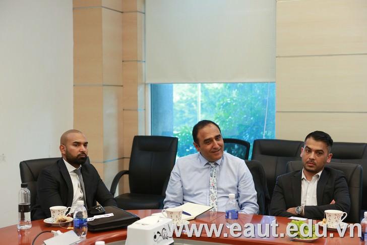 QA Higher Education mong muốn được hợp tác du học Anh với Đại học Công nghệ Đông Á trong tương lai.