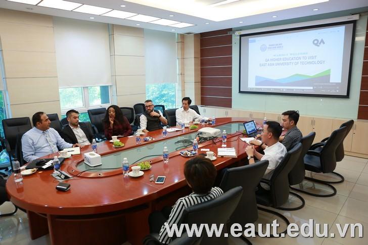 Gặp gỡ Đại học Công nghệ Đông Á và QA Higher Education tại Hà Nội - Tháng 10/2019