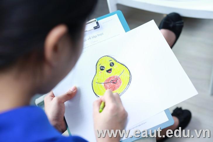 Sự sáng tạo của sinh viên trong thiết kế logo.