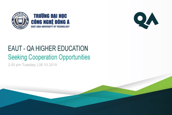 Seeking Cooperation Opportunities wi qa higher education