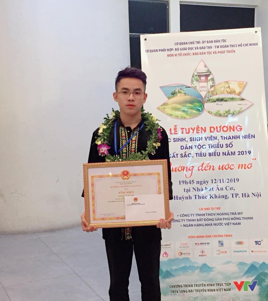 Lang Xuân Diệu hiện đang là sinh viên ngành Quản trị kinh doanh