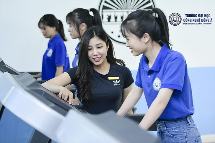 """Học thể dục """"chất như nước cất"""" ở Đại học Công nghệ Đông Á"""
