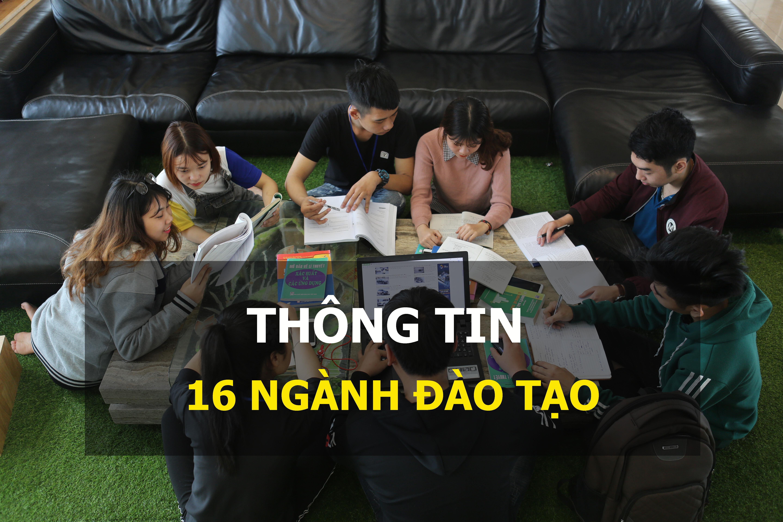 (Tiếng Việt) THÔNG TIN 16 NGÀNH ĐÀO TẠO