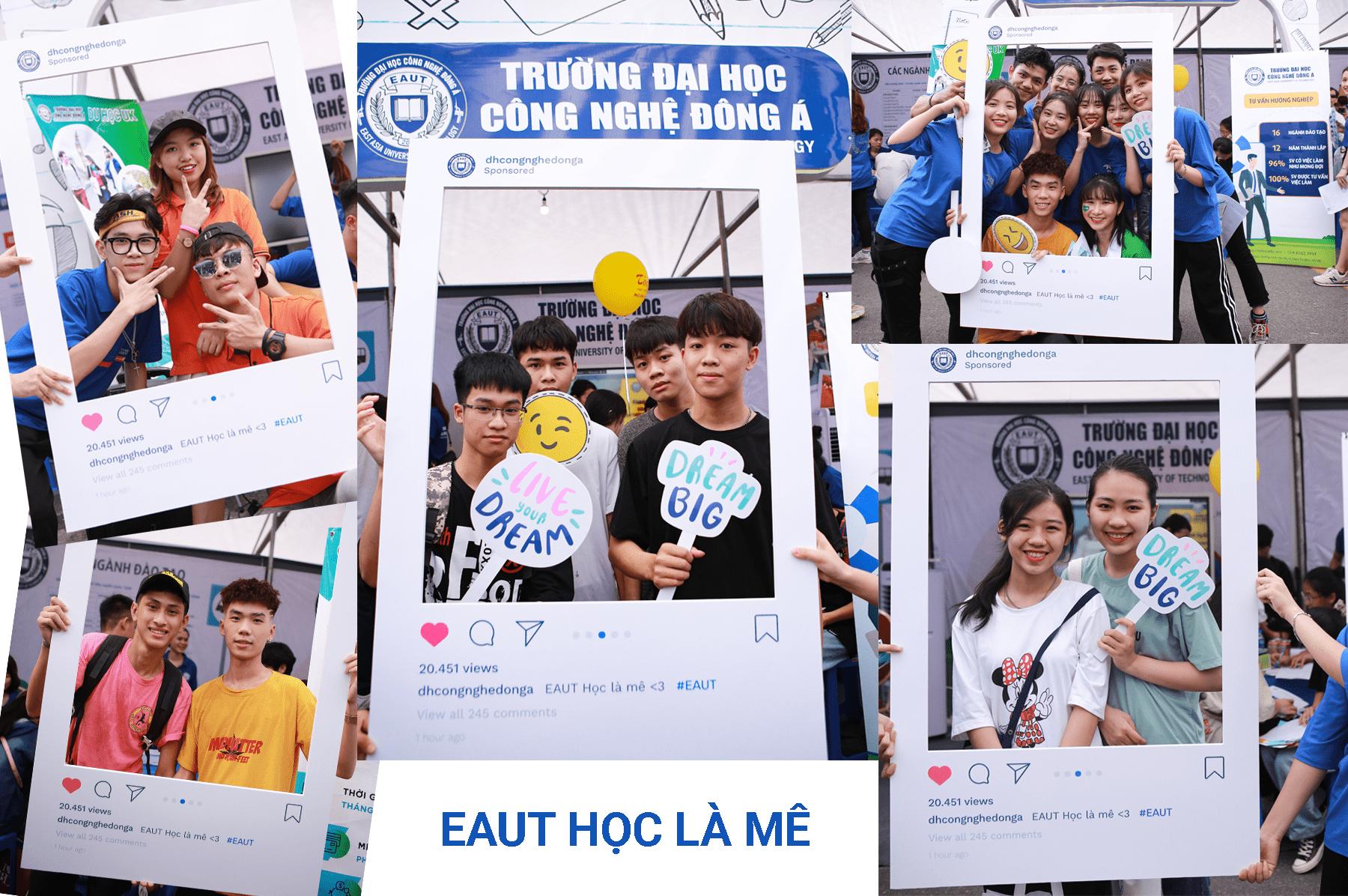 """(Tiếng Việt) EAUT mang sức hút """"Lạ Kỳ"""" tới ngày Hội tư vấn tuyển sinh 2020"""