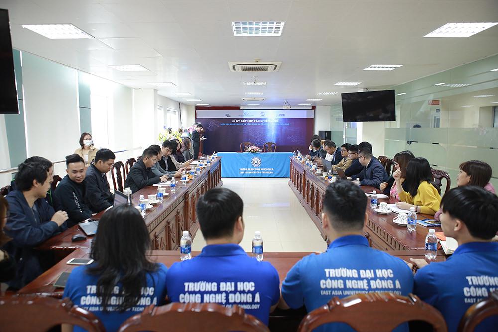 Ngày 04/01/2021, lễ ký kết hợp tác chiến lược giữa Tập đoàn Polyco - Tổng Công ty Công nghệ và Giải pháp CMC đã diễn ra