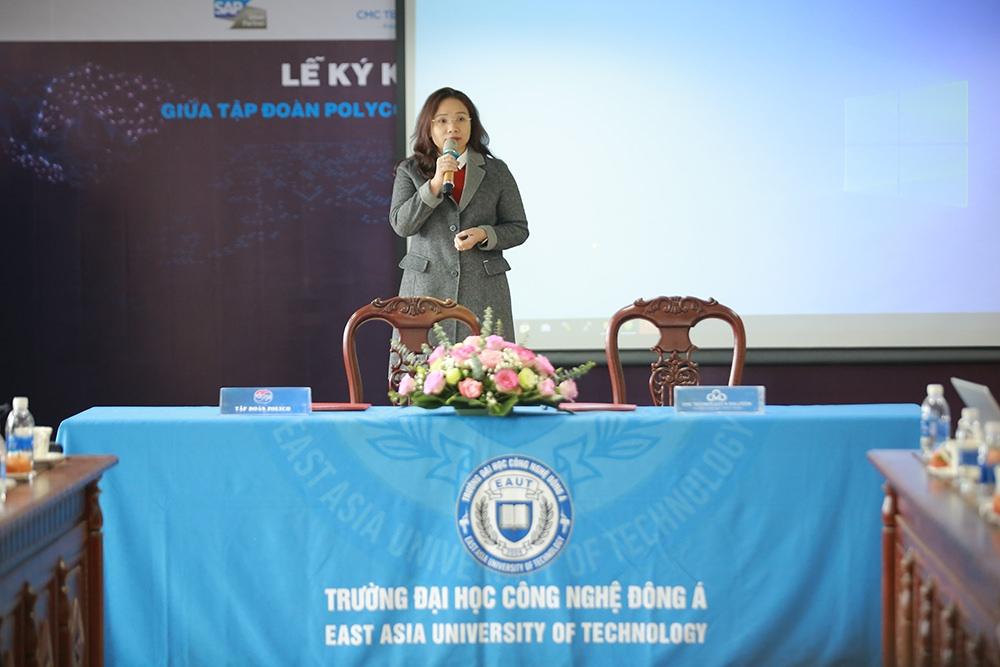 TS Đinh Phương Thảo - Phó Tổng Giám đốc, Phó Hiệu trưởng