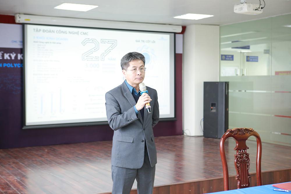 Ông Nguyễn Kim Cương - Phó Tổng Giám đốc, Giám đốc khối giải pháp Doanh nghiệp vừa và nhỏ CMC TS