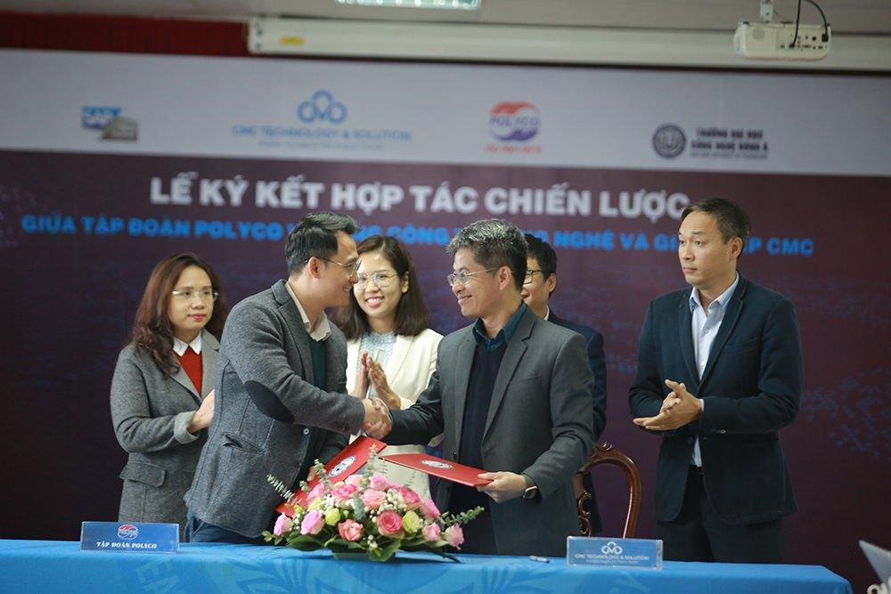 Hợp tác chiến lược giữa Tập đoàn Polyco - Tổng Công ty Công nghệ và Giải pháp CMC cũng sẽ mở ra cơ hội trải nghiệm thực tế cho sinh viên Đại học Công nghệ Đông Á