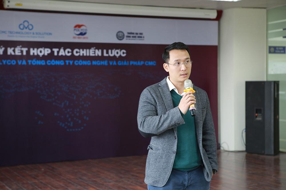 TS Đinh Văn Thành - Tổng Giám đốc Tập đoàn Polyco, Hiệu trưởng Trường Đại học Công nghệ Đông Á.