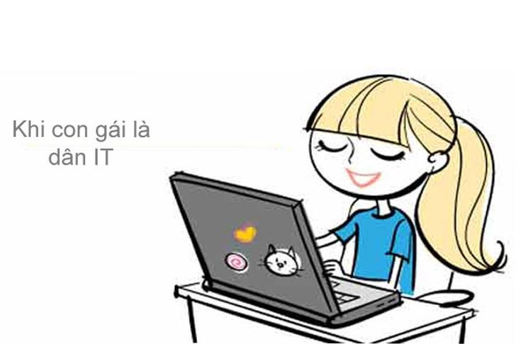 Tỷ lệ nữ giới trong ngành Công nghệ thông tin chỉ chiếm 11% nhưng không vì thế nữ học công nghệ thông tin kém
