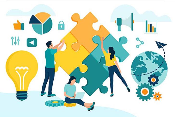 Các bạn sinh viên ngành Marketing có lợi thế về kỹ năng làm việc nhóm, sẽ được nhà tuyển dụng đánh giá rất cao